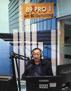 Talk Show Dosen PLS di Radio RRI
